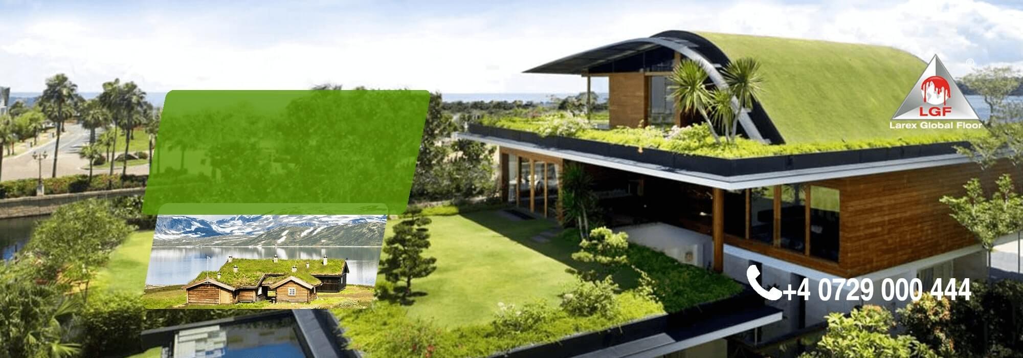 slider hidroizolatii acoperis verde