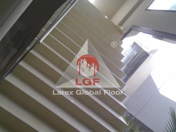 Larex Global Floor - Microciment cu aplicare pentru scari si pardoseli