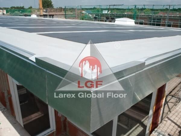 Larex Global Floor - Hidroizolatii acoperis membrana fotovoltaica cladire