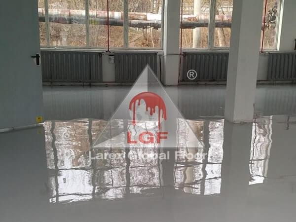Larex Global Floor - Pardoseala AS conductiva hala productie productie