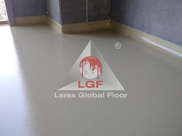 Larex Global Floor - Pardoseli poliuretanice usa hala productie