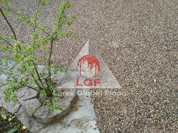 Larex Global Floor - Pardoseala drenanta aplicare restaurant terasa bar spatiu verde