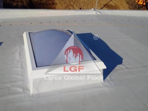 Larex Global Floor - Trape de fum cupola luminator magazin alimentar supermarket