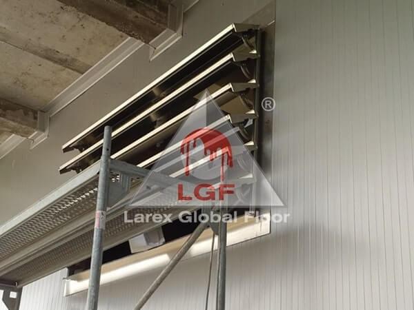 Larex Global Floor - Trape de fum sistem exhaustare fum perete