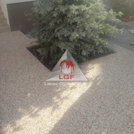 Pardoseala DURAPAVE Larex Global Floor LGF alee de access incadrare arbusti curte