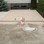 Pardoseala DURAPAVE Larex Global Floor LGF alee de access casa de locuit pregatire canale scurgere