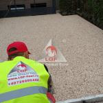 Pardoseala DURAPAVE Larex Global Floor LGF alee tragere material la boloboc