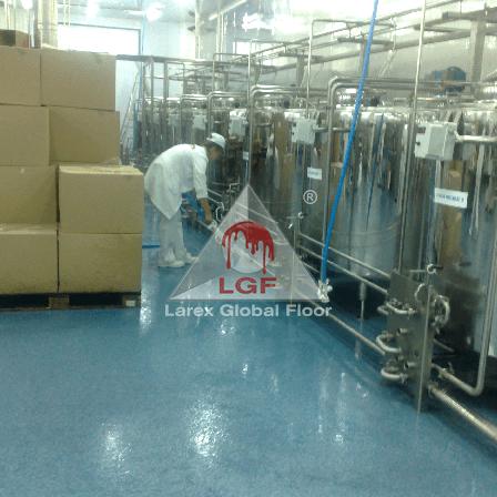 Sistem pardoseala mortar poliuretanic DURACRETE-DPB-R-4-6 mm Larex Global Floor