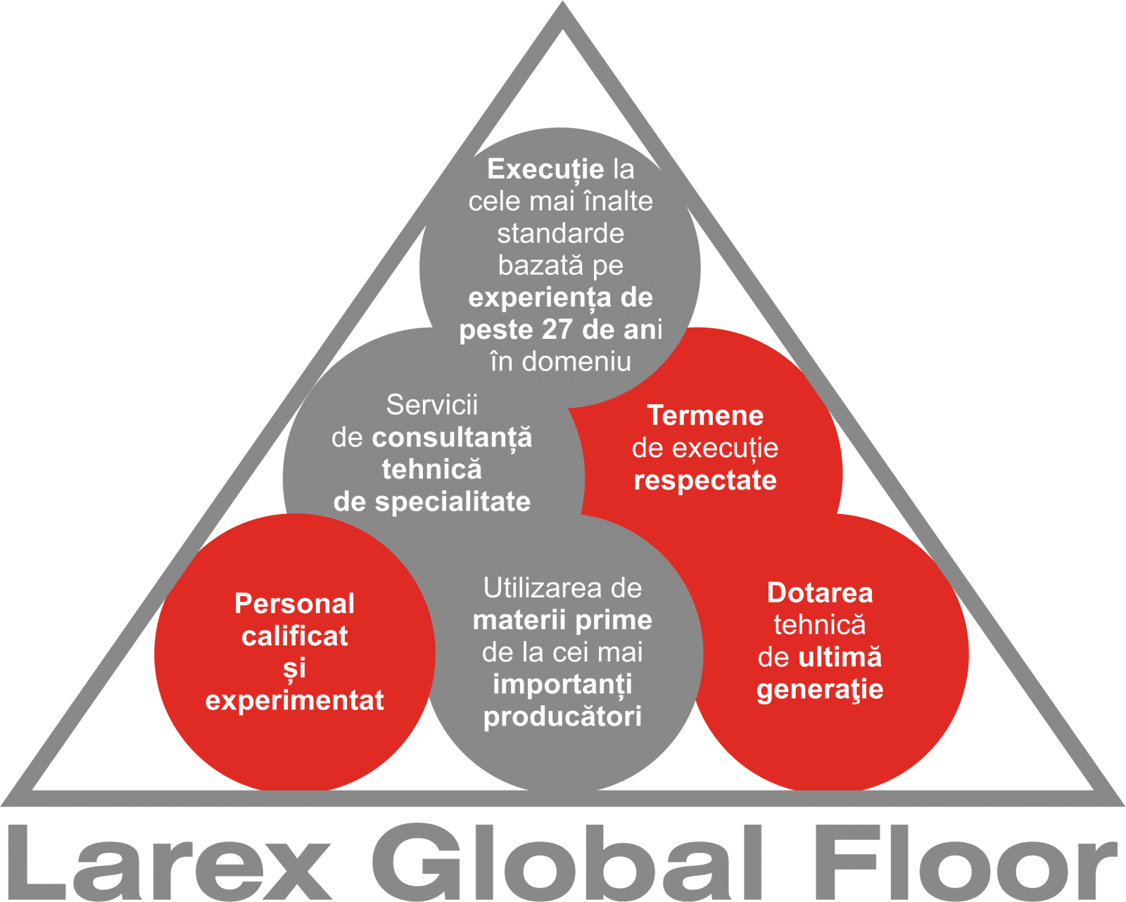 baza succesului Larex Global Floor